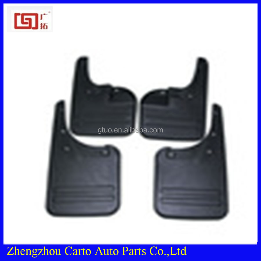For toyota hilux vigo body parts factory customized black rubber mud flap