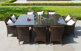Rattan and wicker garden outdoor furniture