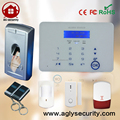 433mhz 868mhz intelligent home gsm pstn alarm system with rechargeable motion sensor and wireless siren