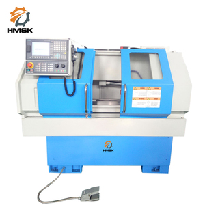 stock sale CK6132 CNC lathe machine for metal thread