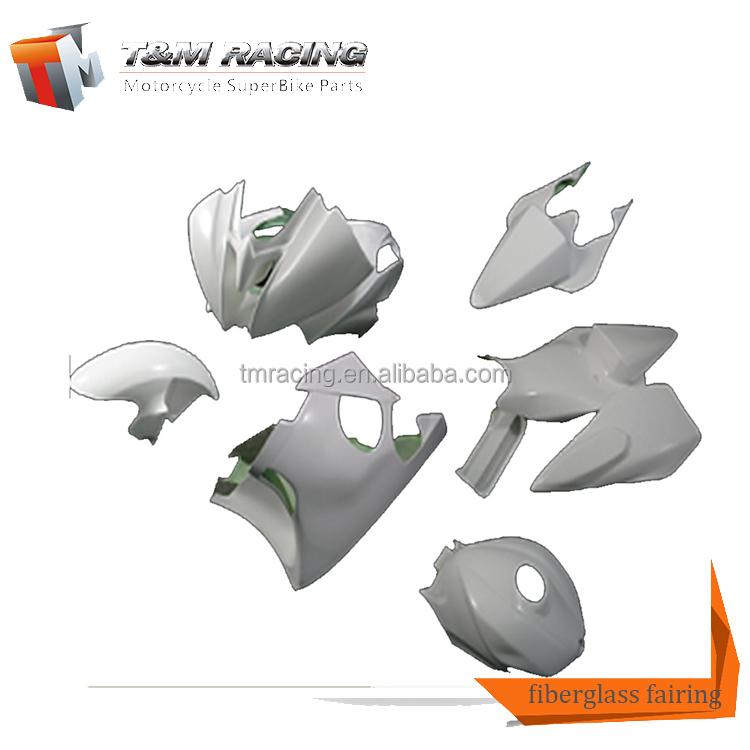 Universal Off Road Motorcycle motorcycle front fairing reinforced fiberglass for yamaha R6 08-09