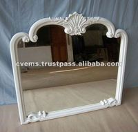 French Mirror White Color