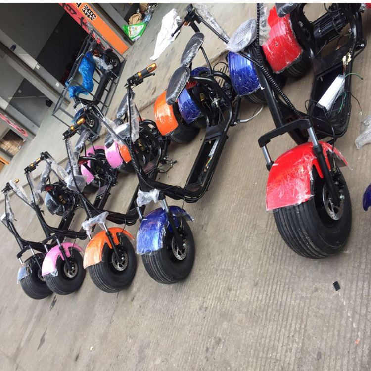 2017 citycoco 3 wheels 200km off road 200cc gasoline motor scooter with CE