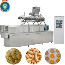 corn puff snack food making plant