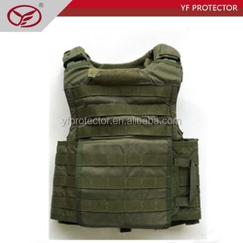 Level iv kevlar quick release bullet proof vest