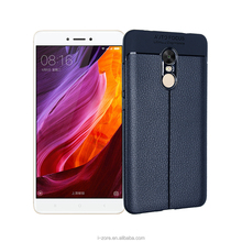 Free sample flexible TPU Lichee Case Cover for Xiaomi Redmi Note 4X Fundas