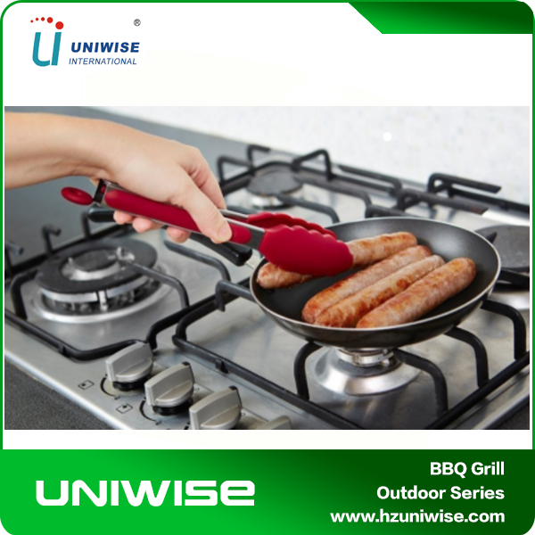Heat Resistant FDA Approved Silicone BBQ Tongs