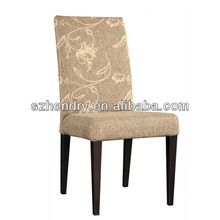 white fabric high quality restaurant furniture