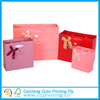 NEW Plain Pinks and Red Clothes Paper Shopping Gift Bag with Gold Ribbon
