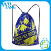 brand waterproof recycled web embossed Non Woven hand eco bag