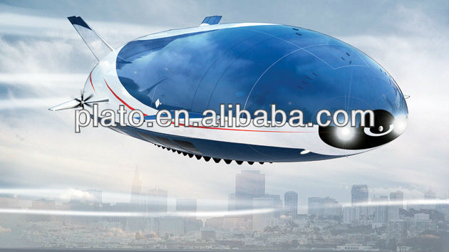 giant inflatable outdoor rc blimp airship for promotion and advertising