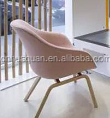 A759#wooden chair old style wooden chairs pink styling chair,fabric sofa with metal feet