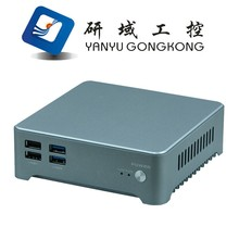 NUC PC Intel Core i3/i5/i7 Barebone Mini ITX PC aliminium alloy case