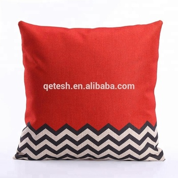 Qetesh Custom Digital Linen Printing Throw Pillow Cover