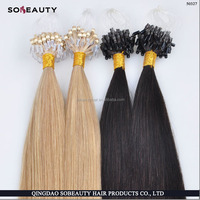 high quality best virgin remy hair cheap 100% human hair micro loop ring hair extension for black women