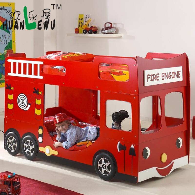 Кровать детская в виде машины