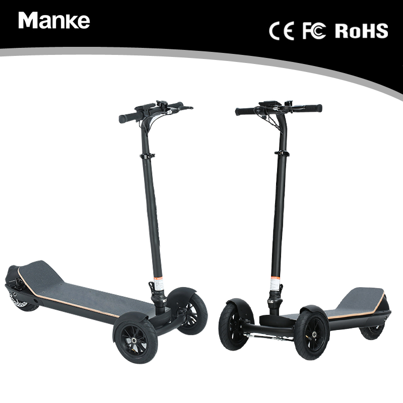 2018 Manke Foldable Three Wheel Electric Scooter for Adult/ Children