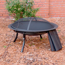 Camping Fire Pit with Carry Bag portable fire bowl