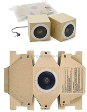 OEM/ODM Gift Foldable Cardboard Box Paper with without Wireless Bluetooth Speaker