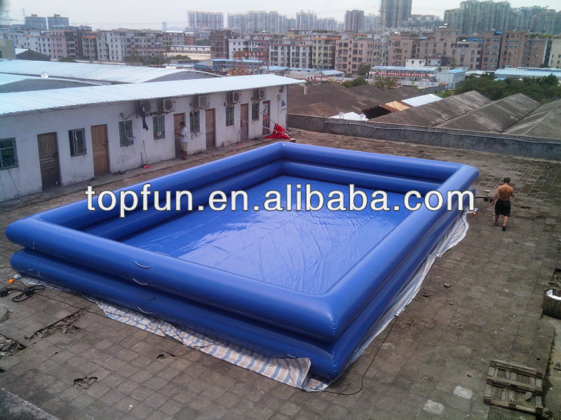 giant two layers Inflatable swimming pool