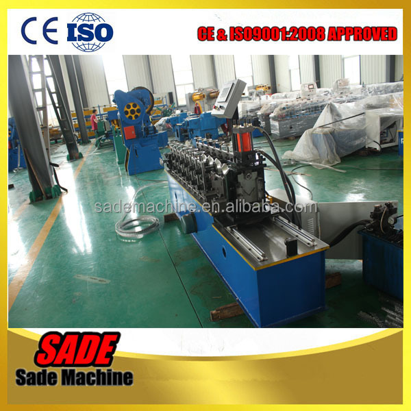 Corner bead light keel angle iron roll forming machine