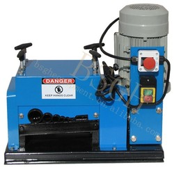 scrap wire BS-009 stripping machine/copper wire peeling/scrap cable wire peeler for sale