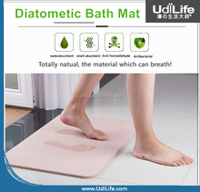 Absorbent Diatomite Bath Mat fast drying anti-slip