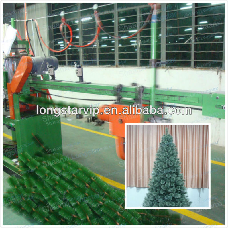 PVC Pine Needles Christmas Tree Machine