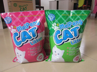 Hot Sale!!!Clumping bentonite cat litter,kitty sand