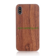 Natural Wood Mobile Phone Protective Case for iPhone X