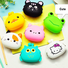 Wholesale cheap mini Silicone coin Purse