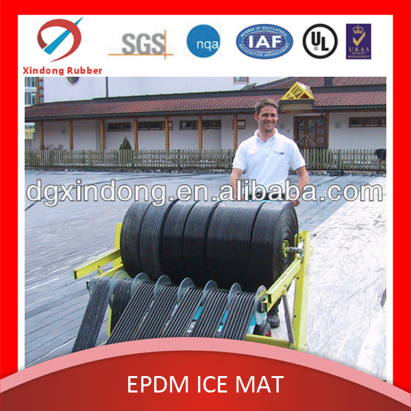 PE roller skating pipe mat, flooring artificial grass&sports ice cooling mat