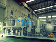 Tyre Oil Recycling to Base Oil Machine,Waste Tyre Oil Pyrolysis Purification Plant with CE