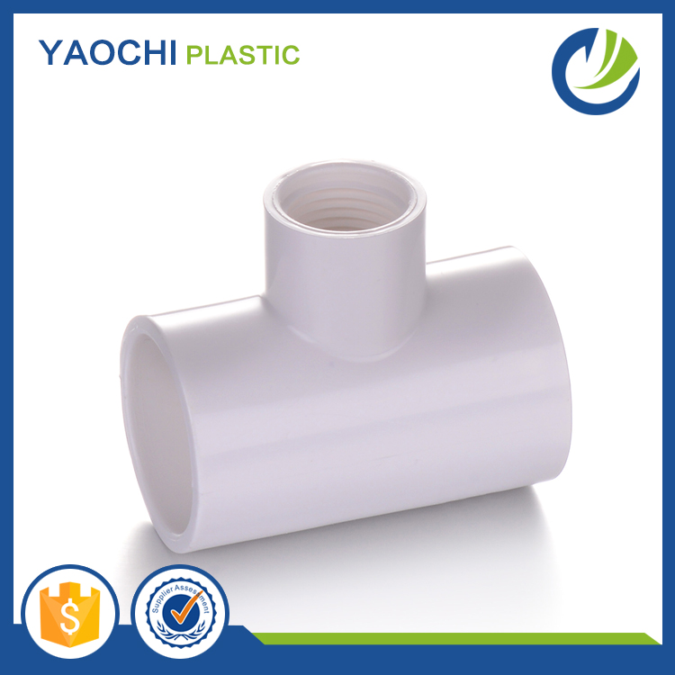 Top reducer supplier All sizes available pipe PVC reducing tee