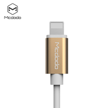 Mcdodo 12cm for iphone 7 headphone adapter with TPE cable without charging function