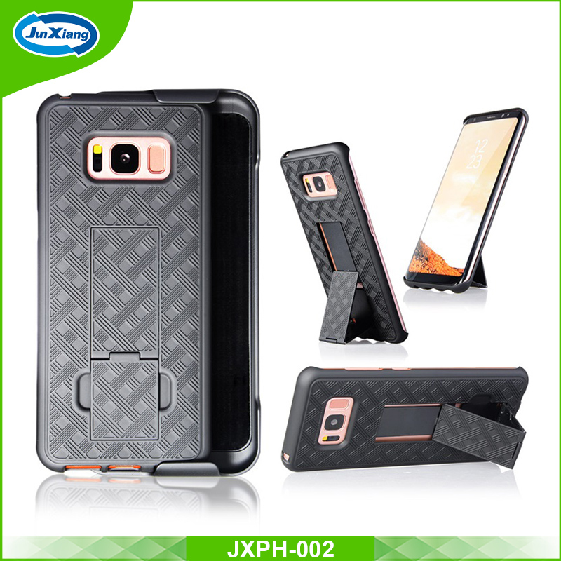 2017 new belt clip mobile holster case for samsung galaxy s8 cell phone case