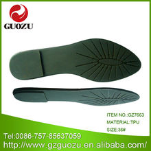 2012 fashion lady sandal tpu sole slippers sole factory