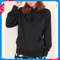 Lightweight Cotton Hoodies & Seatshirts Blank Hoodie Sweatshirts 65 Polyester 35 Cotton Sweatshirt Black