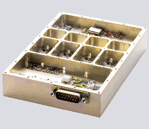 thru hole filter box for singal phase filter rf package
