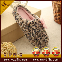comfortable cotton cozy plush fleece house slipper