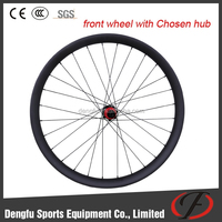 China carbon disc wheels for 27.5er carbon MTB frame 50mm wide hooklesse wheelset