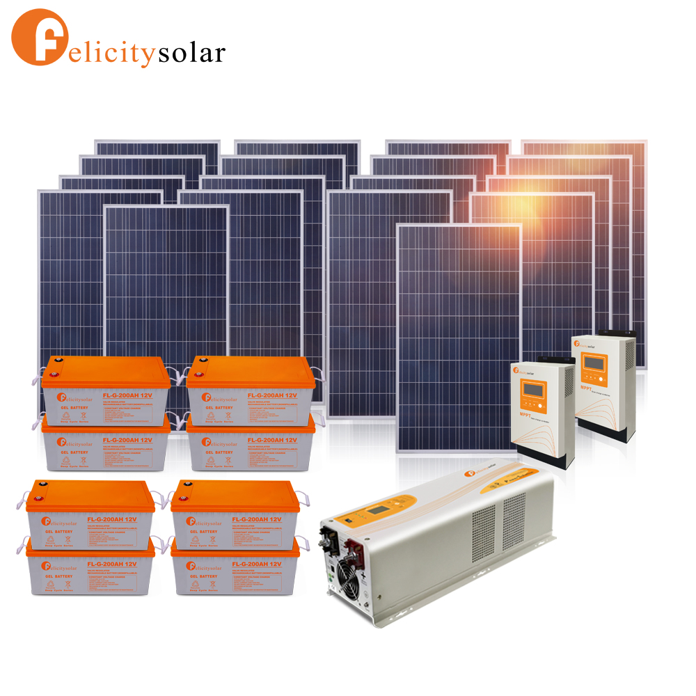 Reasonable price high quality 5000w solar generator for air conditioner
