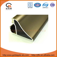 aluminium bronze color window