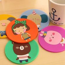 Silicone Heat Flame Resistant Tableware Insulation Pad Table Plate Mat Coaster