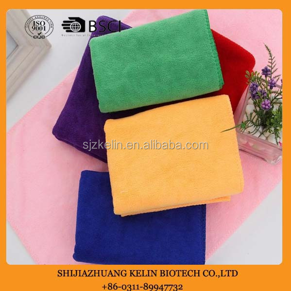 warp knitting 80 polyester 20 polyamide microfiber towel factory wholesale