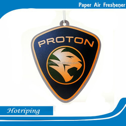 Factory direct sale car air freshener custom oem paper car freshener/ printed cotton air freshener