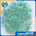 Made in china blue fire pit glass chip