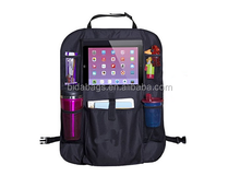 Backseat Car Organizer with Holder for iPad and Tablets