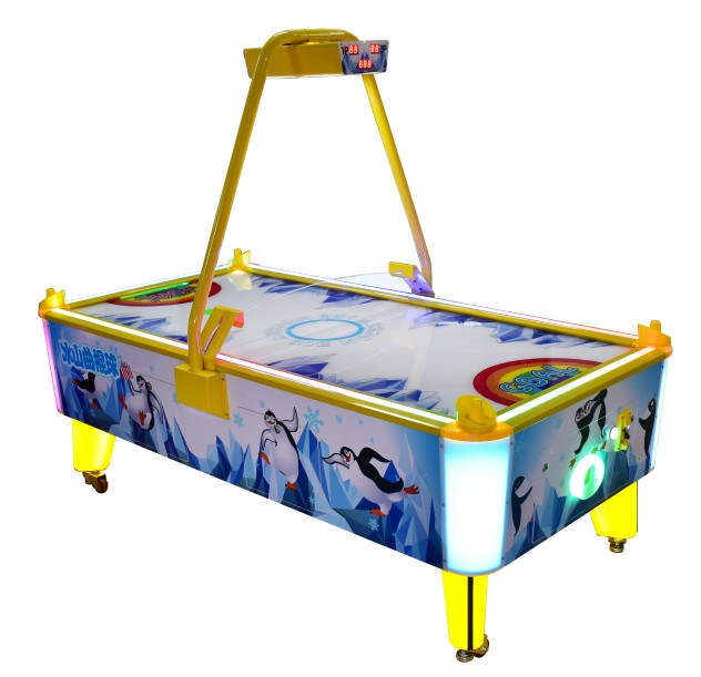 Air hockey table coin operated amusement game machine