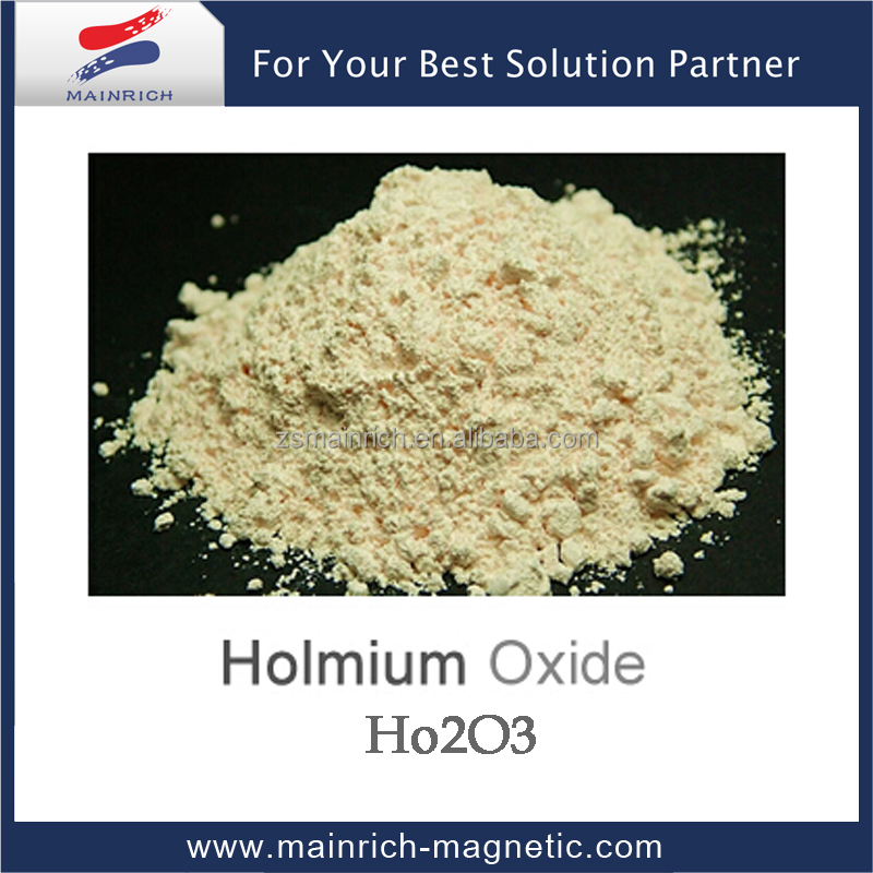 Supply High purity holmium oxide Ho2O3 of Rare Earth Oxide making new light source dysprosium holmium lamp and yttrium aluminum
